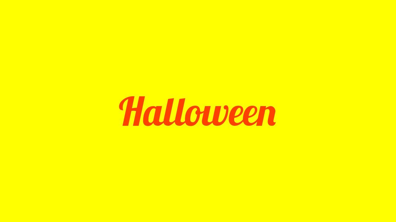 Halloween-Unterstufenparty