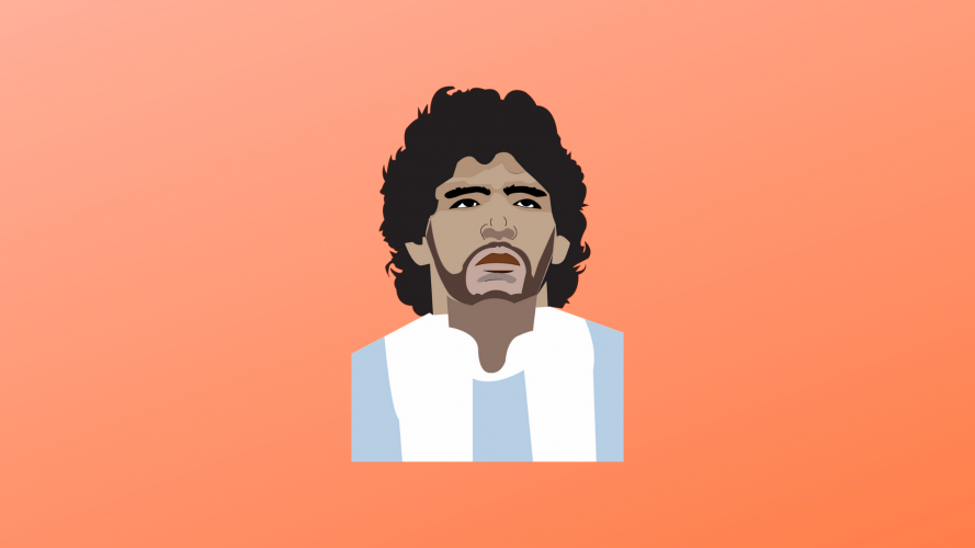 Maradona- das Ebenbild des Fußballs